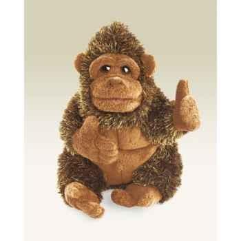 Marionnette peluche, petit gorille -2550
