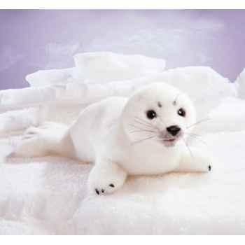 Marionnette peluche, bébé phoque, blanc -2347