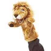 marionnette peluche lion pour theatre de marionettes 2562