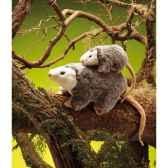 marionnette peluche opossum 2134