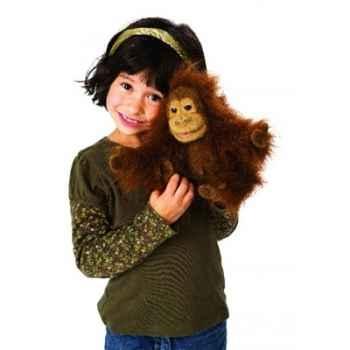 Marionnette peluche, bébé orang-outan -2590
