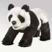 marionnette peluche petit panda 2364