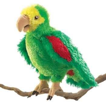 Marionnette peluche, Perroquet d\'Amazonie -2592