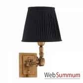 lampe wentworth laiton et blanc eichholtz cer07174