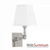 lampe wentworth single nickeet blanc eichholtz lig07221