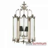 lanterne dufour argent antique eichholtz lig07118