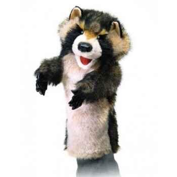 Marionnette peluche, Raton-laveur pour théatre de marionettes -2596