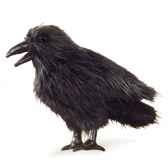 marionnette peluche corbeau 2430