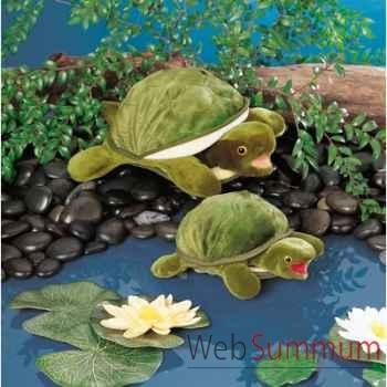 Marionnette peluche, bébé tortue -2521