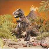 marionnette peluche petit tyrannosaurus rex 2113