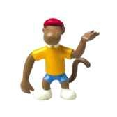 figurine singe zephir 61250