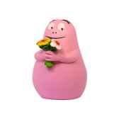 figurine barbapapa bouquet de fleurs 65622