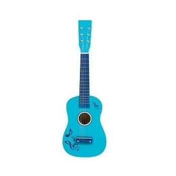 Guitare couleur bleu - 0349