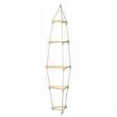 balancoire echelle enfant de corde triangle 1555