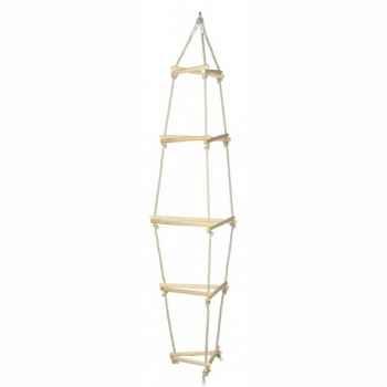 Balançoire échelle enfant de corde triangle -1555