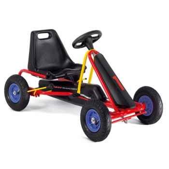 Karting à pédales rouge F 20L -3303