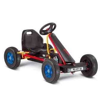 Karting à pédales rouge F 50 -3313