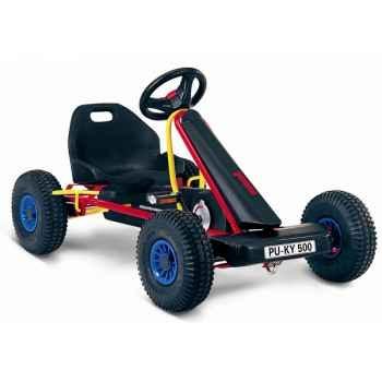 Karting à pédales rouge F 500L -3513