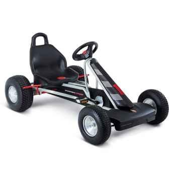Karting à pédales argent F 1L -3818
