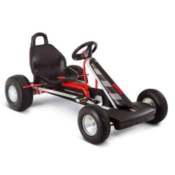 Karting à pédales argent 3 vitesses F 1LS -3928