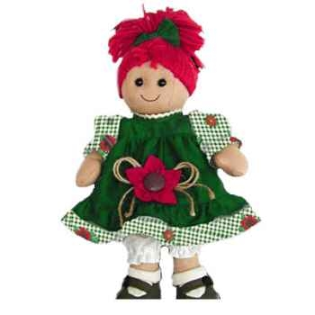Poupée chiffon MyDoll Lola Les Petites Marie-CMC002