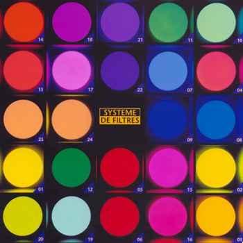 Filtre Moonlight émotion orange clair diamètre 750 mm 23W - A23610