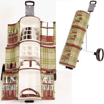 chariot pique nique de luxe galloway tgt002. Black Bedroom Furniture Sets. Home Design Ideas