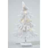 led arbre coton a pile kaemingk 455825
