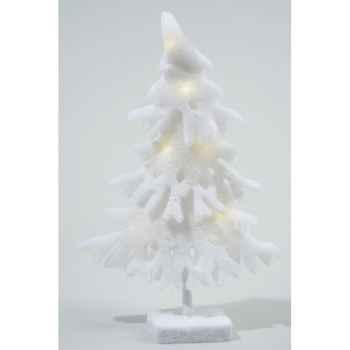 Led arbre coton a/pile Kaemingk -455825
