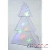 led sapin hologr pvc p int kaemingk 481158