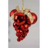 grappe boules plast brilmat rouge noekaemingk 20931