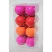 boules plastique uni neon 3cls 40 mm kaemingk 21804
