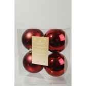 boules plastique uni brilmat 100 mm kaemingk 22168