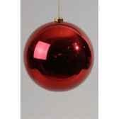 boule plastique uni brillant bordeaux 140 mm kaemingk 22263