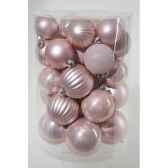 boules pmix rose poudre kaemingk 23176