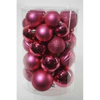 Boules pl mix rose Kaemingk -23178