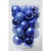 boules pmix bleu cobalt kaemingk 23180
