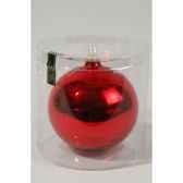 boule uni brillant 150 mm rouge noekaemingk 113046