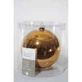 boule uni brillant 150mm amande kaemingk 113486