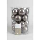 boules machine uni emaimat 60mm gris argile kaemingk 140230