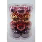 boules machine mix de couleur 60mm kaemingk 142130
