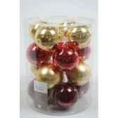 boules mach christmas ant mix 80mm kaemingk 145010