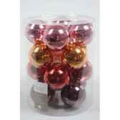boules machine mix de couleur 80mm kaemingk 145030