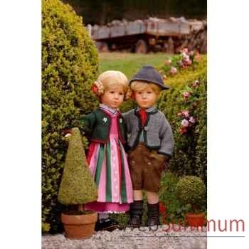 Kathe Kruse®  - Poupée de collection Doll VIII, Friedebald,  édition limitée-52801