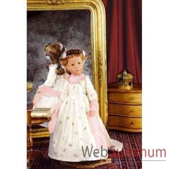 Kathe Kruse®  - Poupée de collection Doll VIII, Sissi,  édition limitée-52807