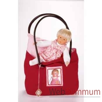 Poupée collection Kathe Kruse®  - Bath Baby, Baby Rumpumpel mit Tasche- 32851