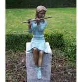 fille avec flute an1552brw v