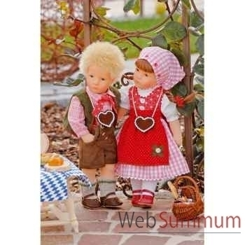 Poupée collection Kathe Kruse®  - Doll IX, Little Rascal- 35803