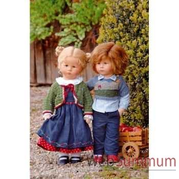 Poupée collection Kathe Kruse®  - Puppe XII, Maxl- 47803