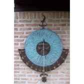 grand cadran solaire fixation murale hw0728br v